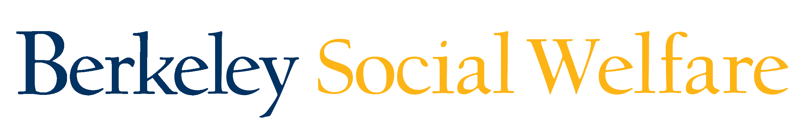 School of Social Welfare at University of California in Berkeley